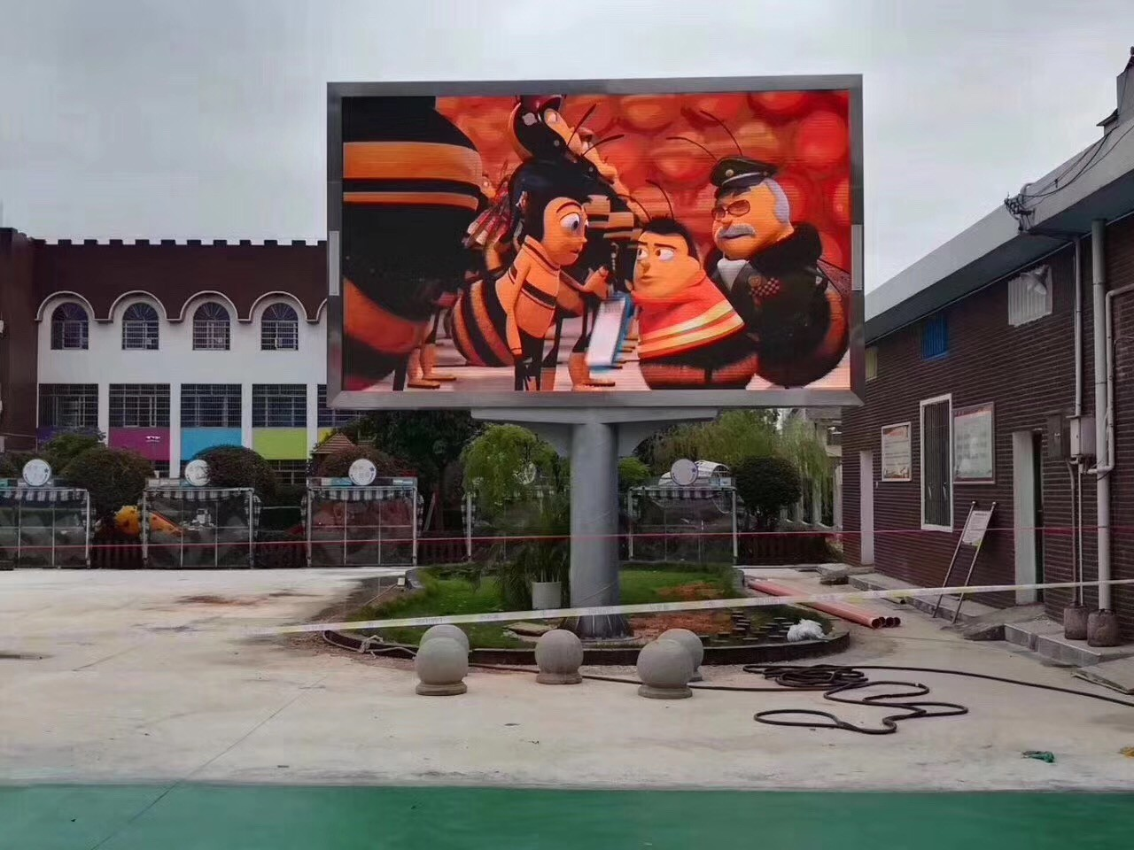 Outdoor P8 LED Billboard